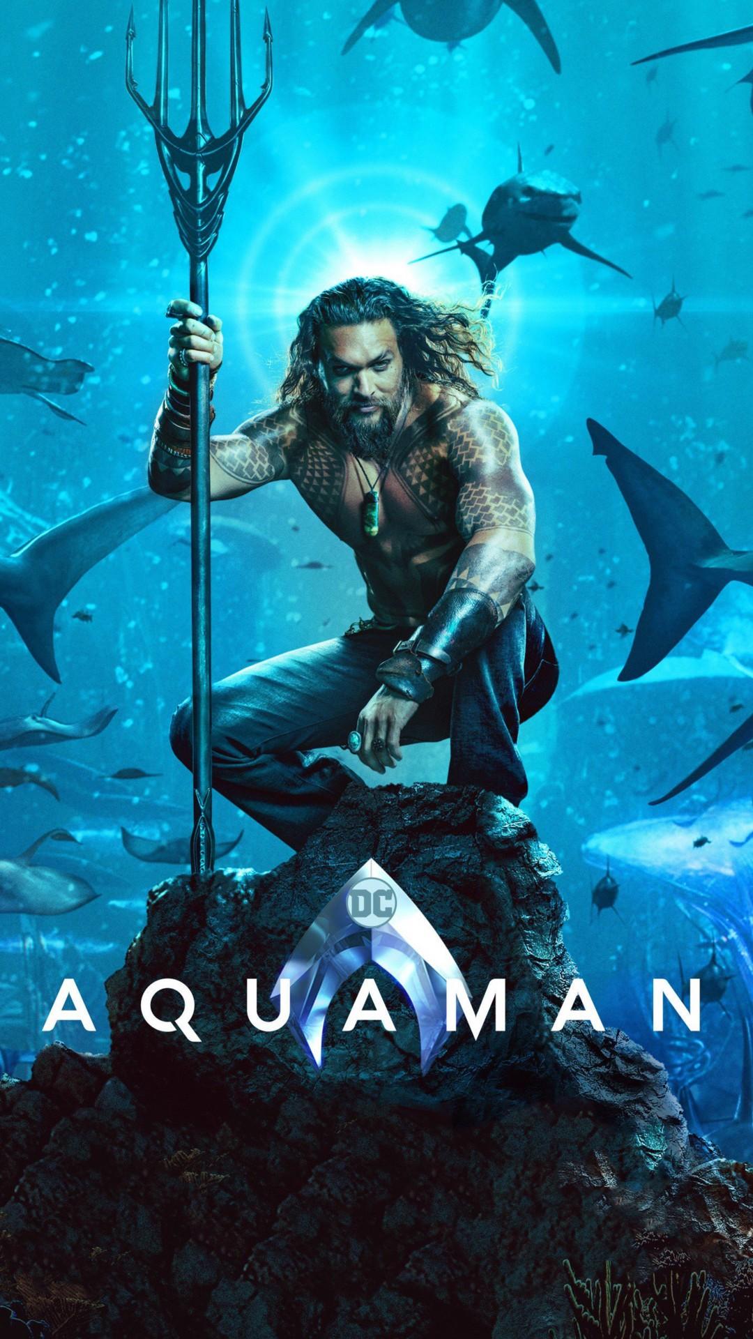 Aquaman 2018 Movie Wallpaper Iphone 6 6s Plus Hd Wallpaper