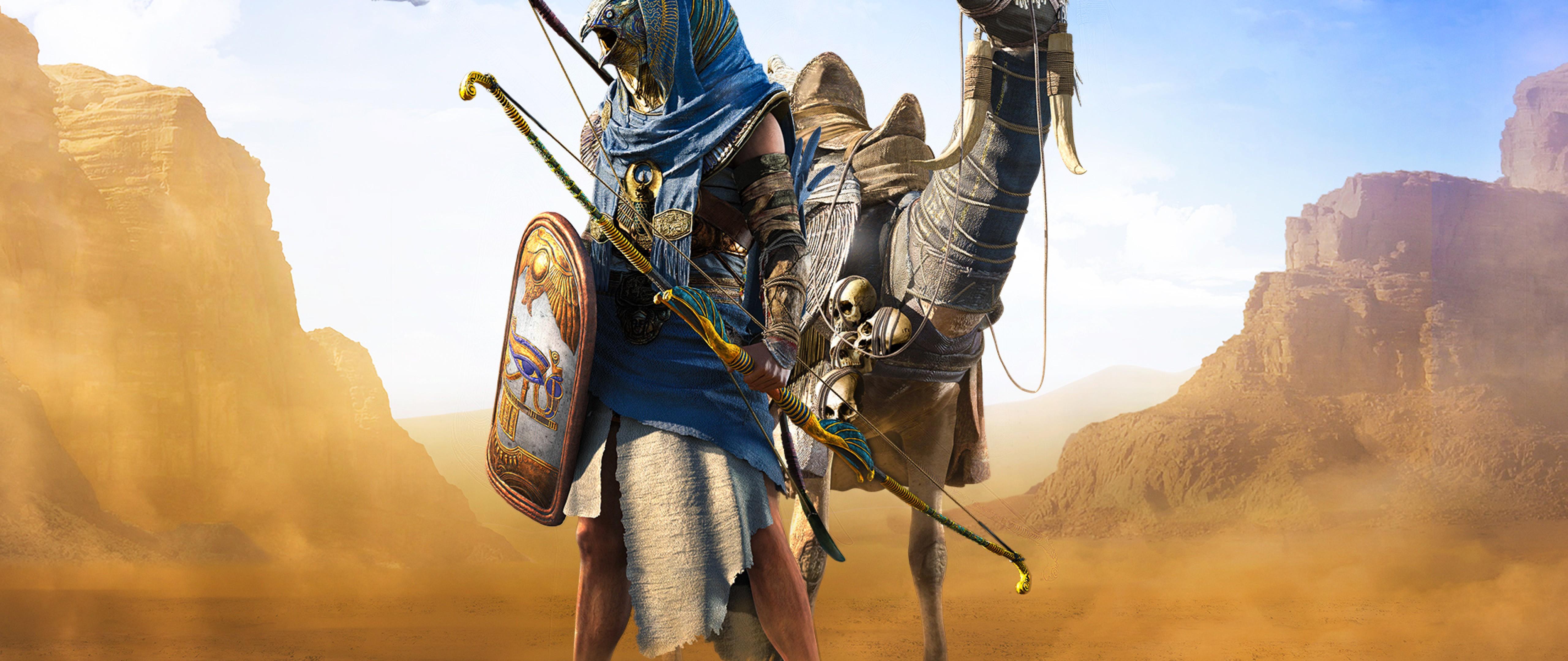Assassin S Creed Origins Hd Wallpaper For Desktop And Mobiles 4k