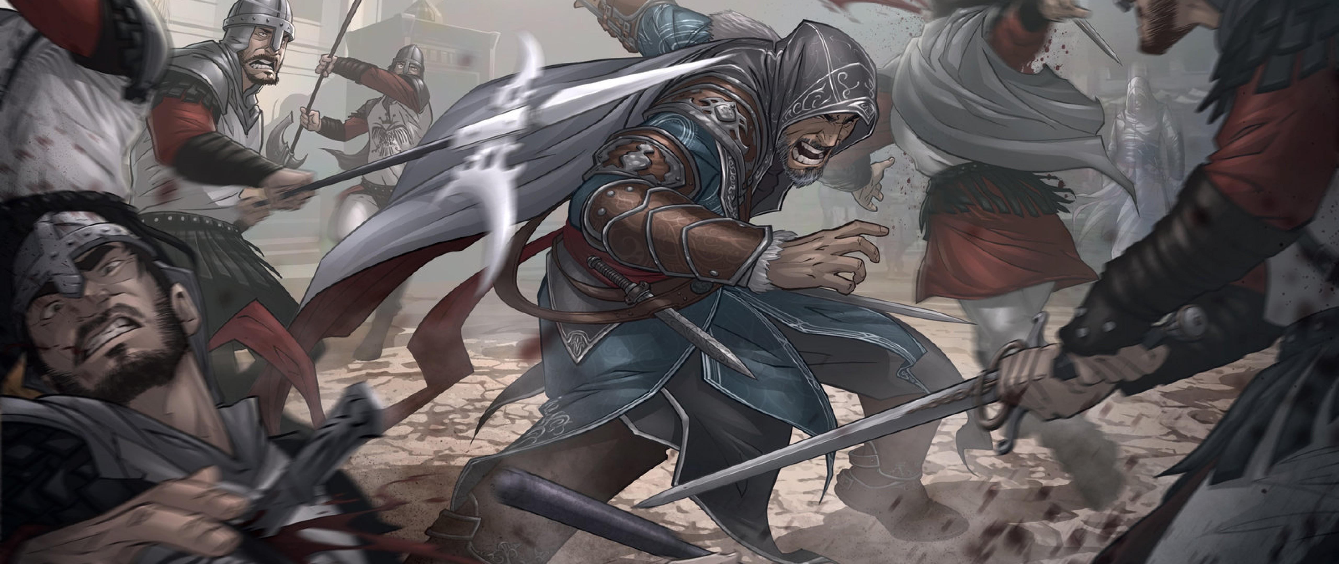 Assassins Creed Art Hd Wallpaper 4k Ultra Hd Wide Tv Hd