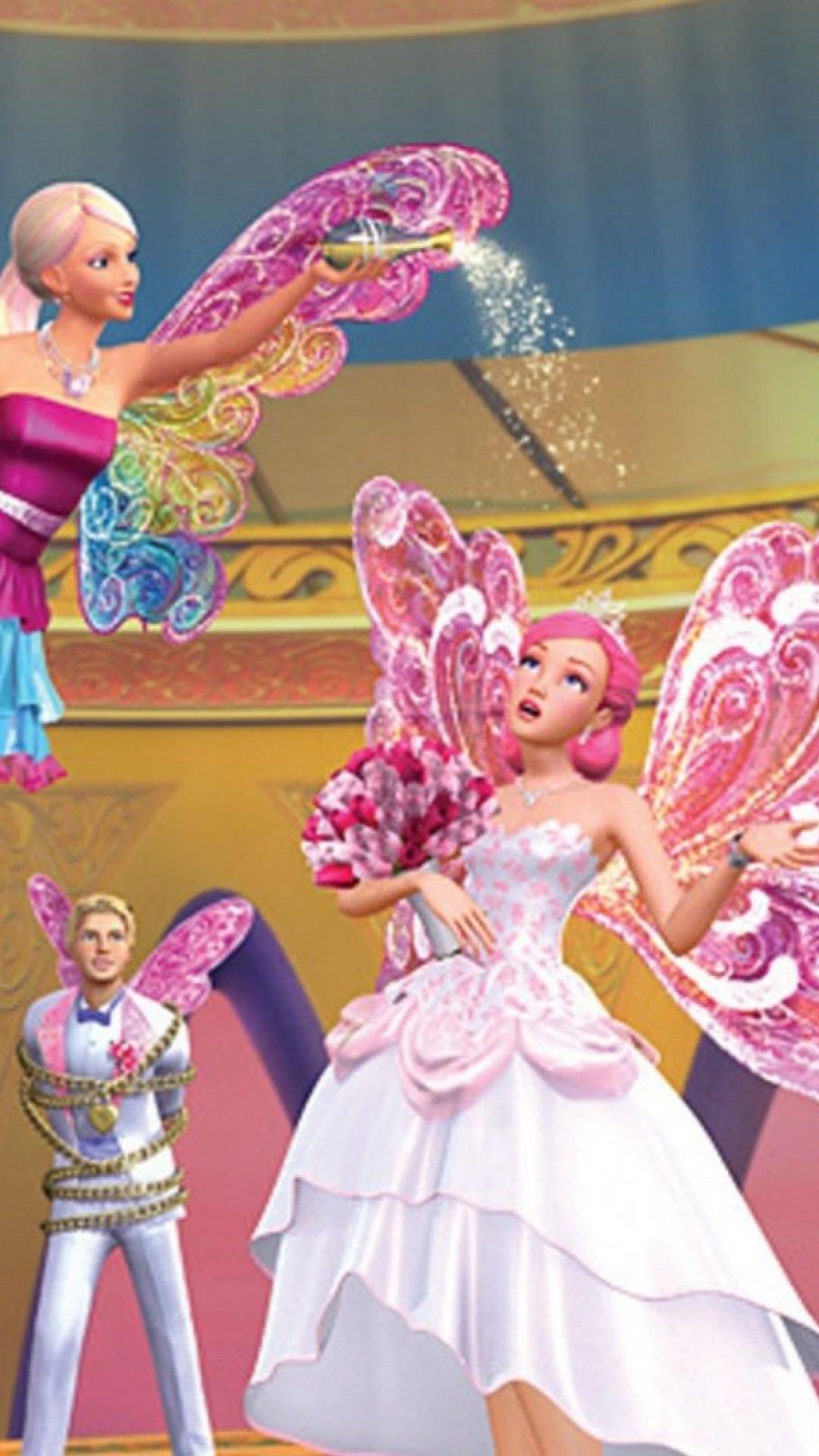 Barbie In A Fairy Secret Hd Wallpaper Iphone 6 6s Plus