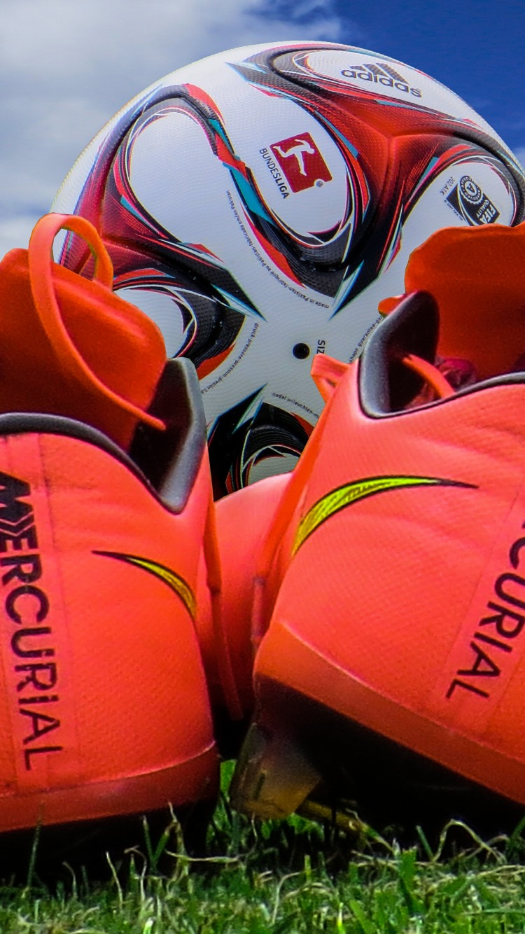 Best Soccer Ball And Cleats Hd Wallpaper For Desktop And