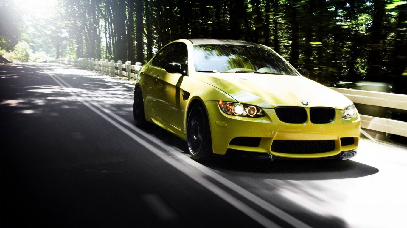Bmw Car High Resolution Wallpaper For Desktop And Mobiles 1366x768