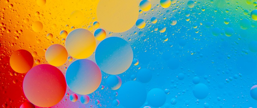 Colourful Bubbles 4k Hd Abstract Wallpaper Facebook Cover