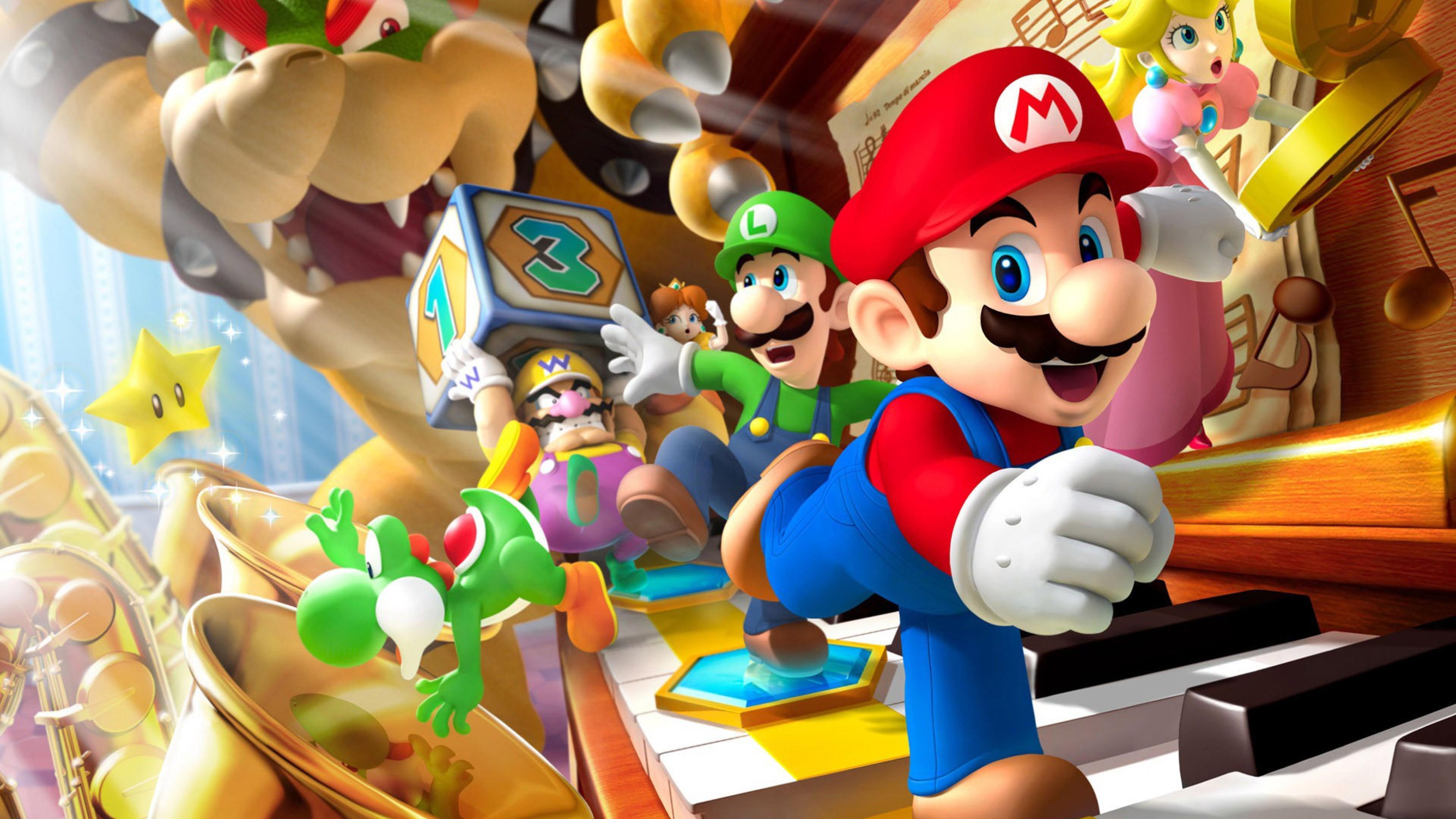 Cool Super Mario Hd Wallpaper For Desktop And Mobiles 4k