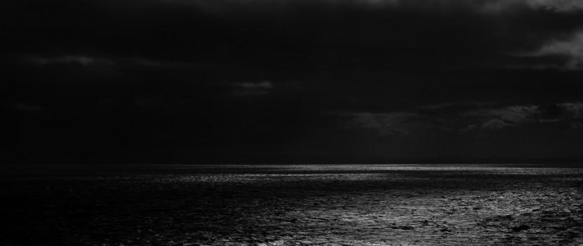 Dark Sea Horizon Hd Wallpaper Facebook Cover Photo Hd