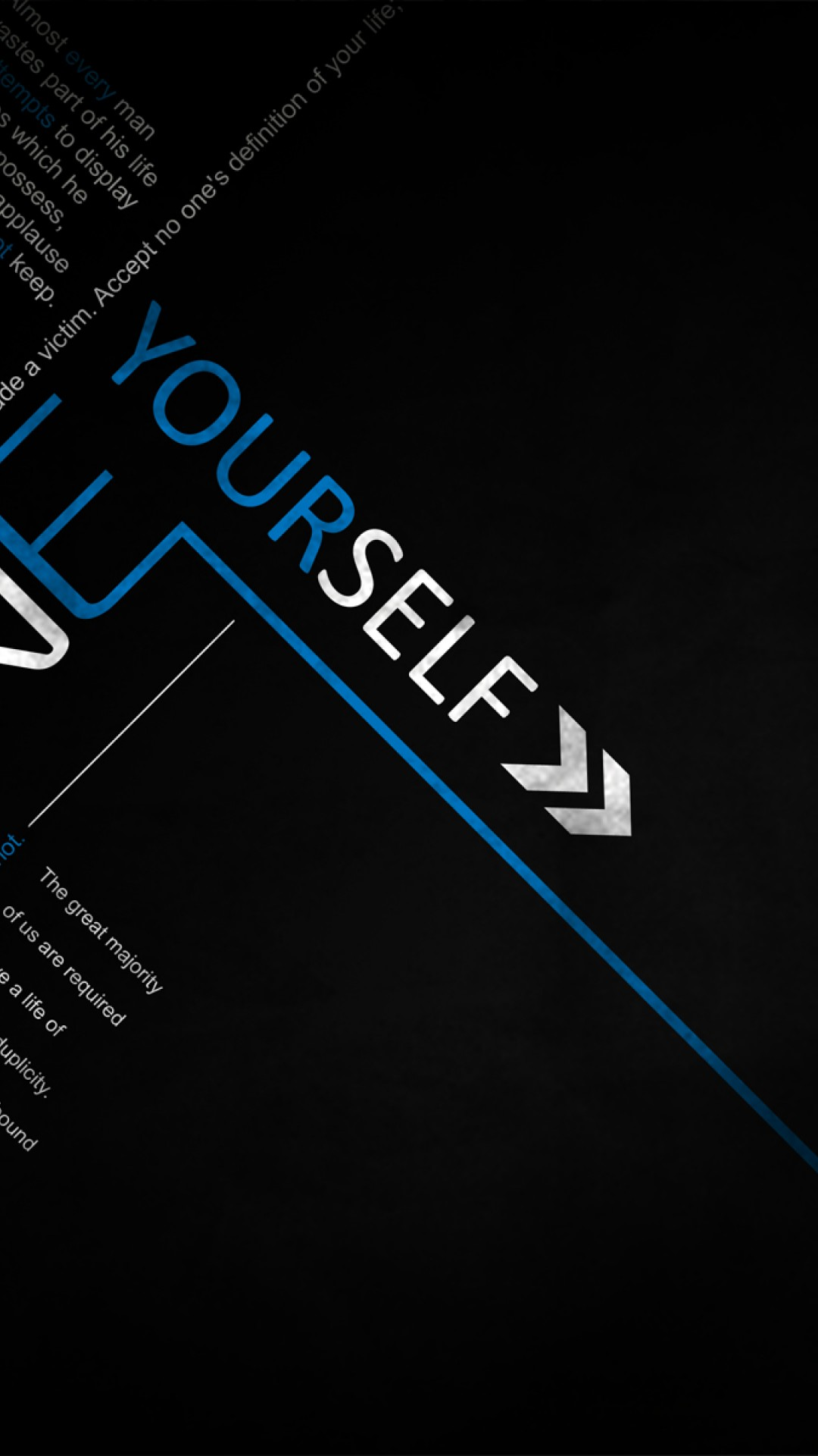 Define Yourself Success Quote Wallpaper For Desktop And