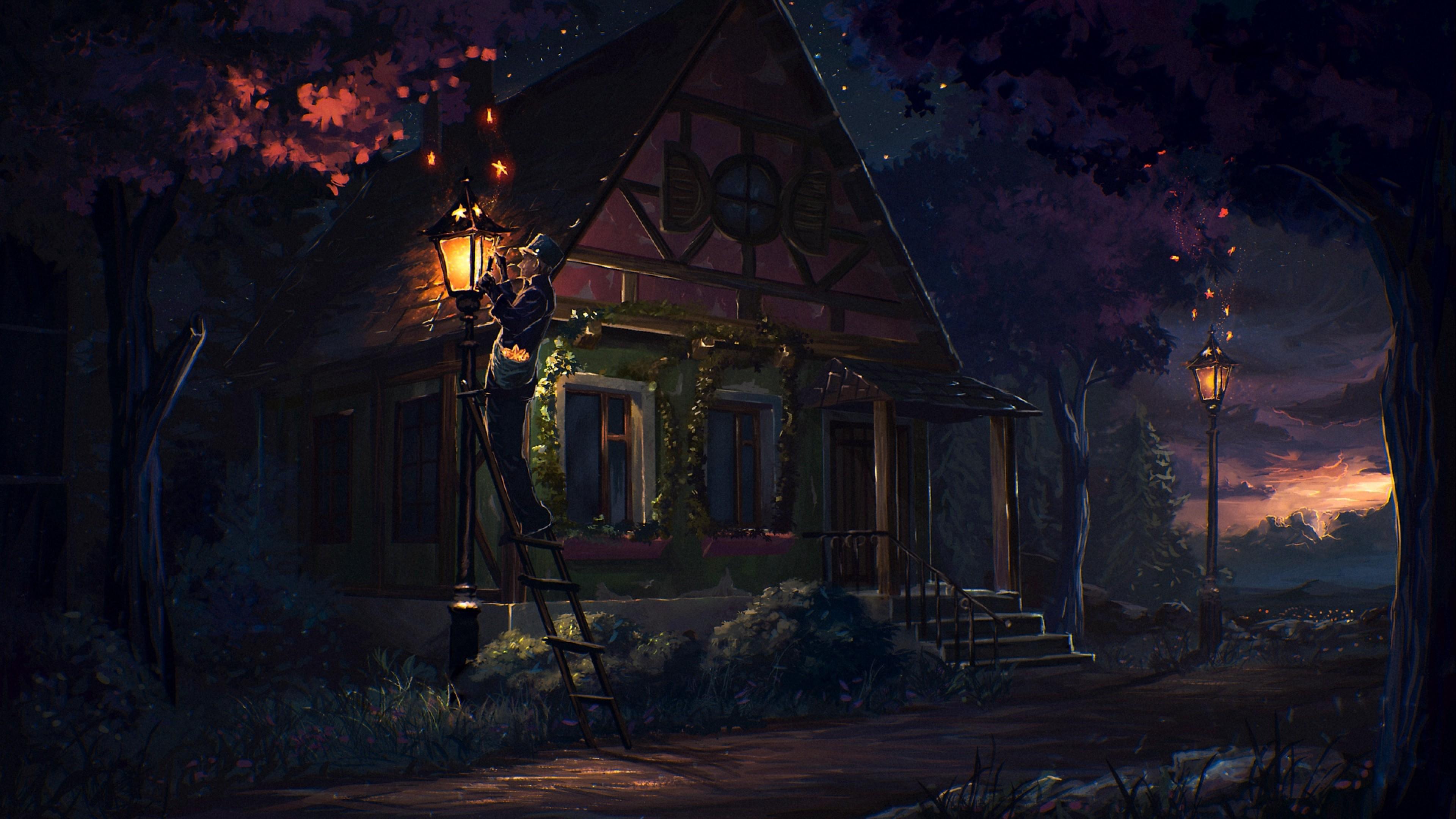 Fairytale House Hd Wallpaper 4k Ultra Hd Hd Wallpaper