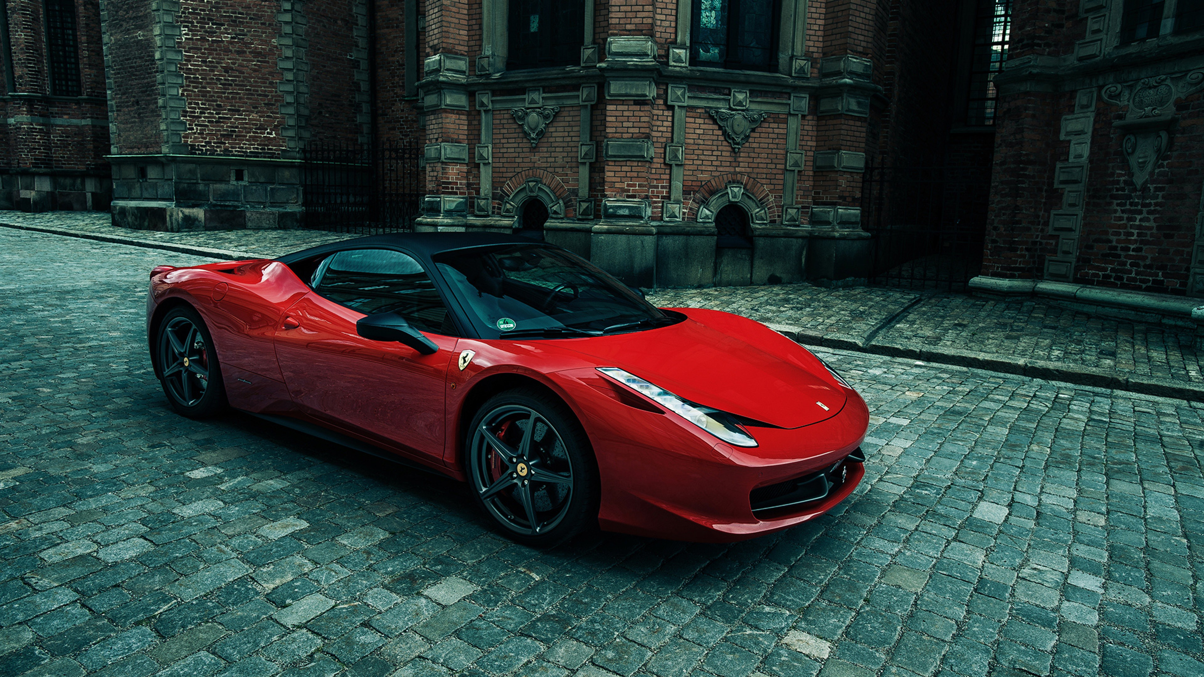 Ferrari 458 Italia Car Wallpaper For Desktop And Mobiles 4k Ultra Hd