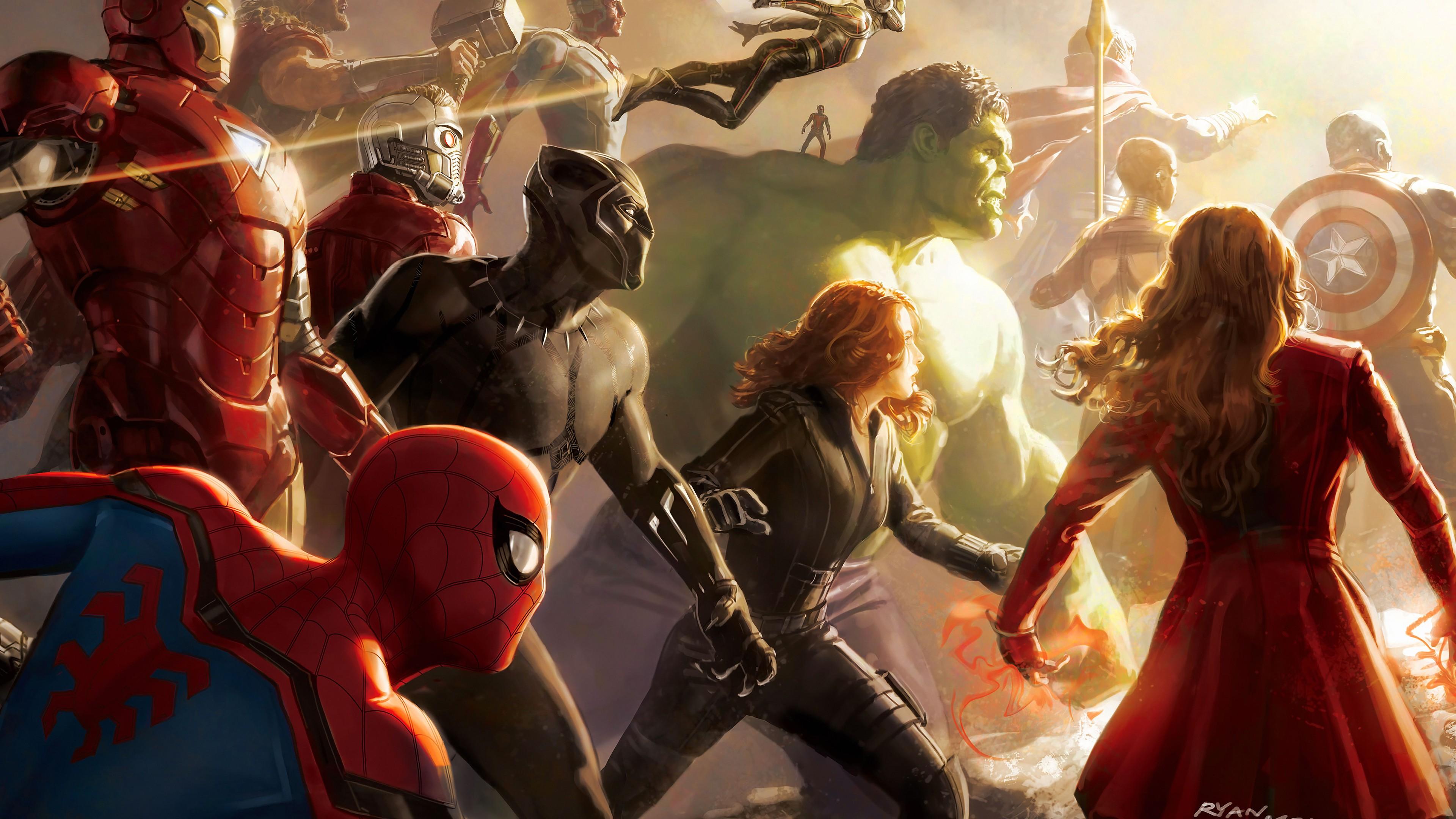 Free Download Avengers Thanos Infinity War Hd Wallpaper