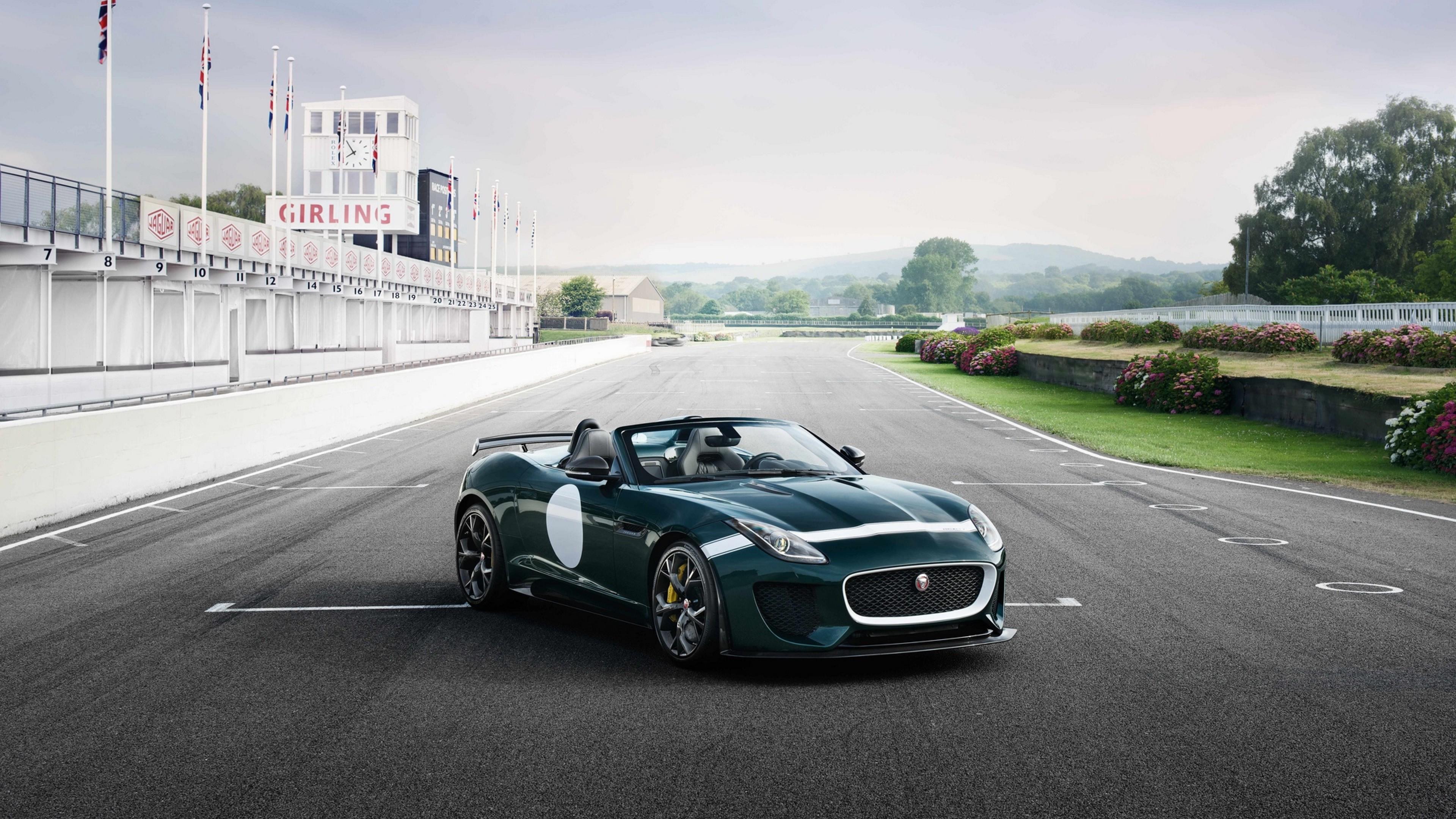 Jaguar F Type Project 7 Hd Wallpaper 4k Ultra Hd Hd