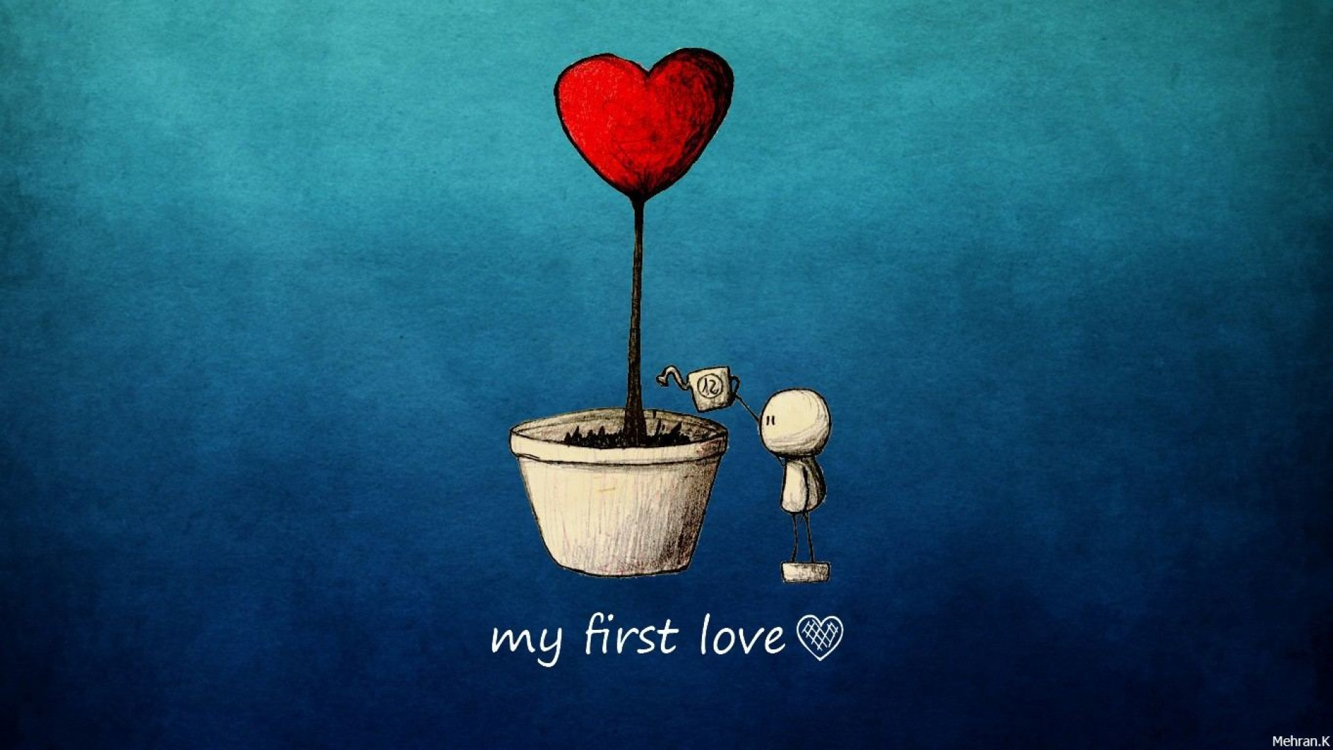 My First Love Hd Wallpaper For Desktop And Mobiles Iphone 7