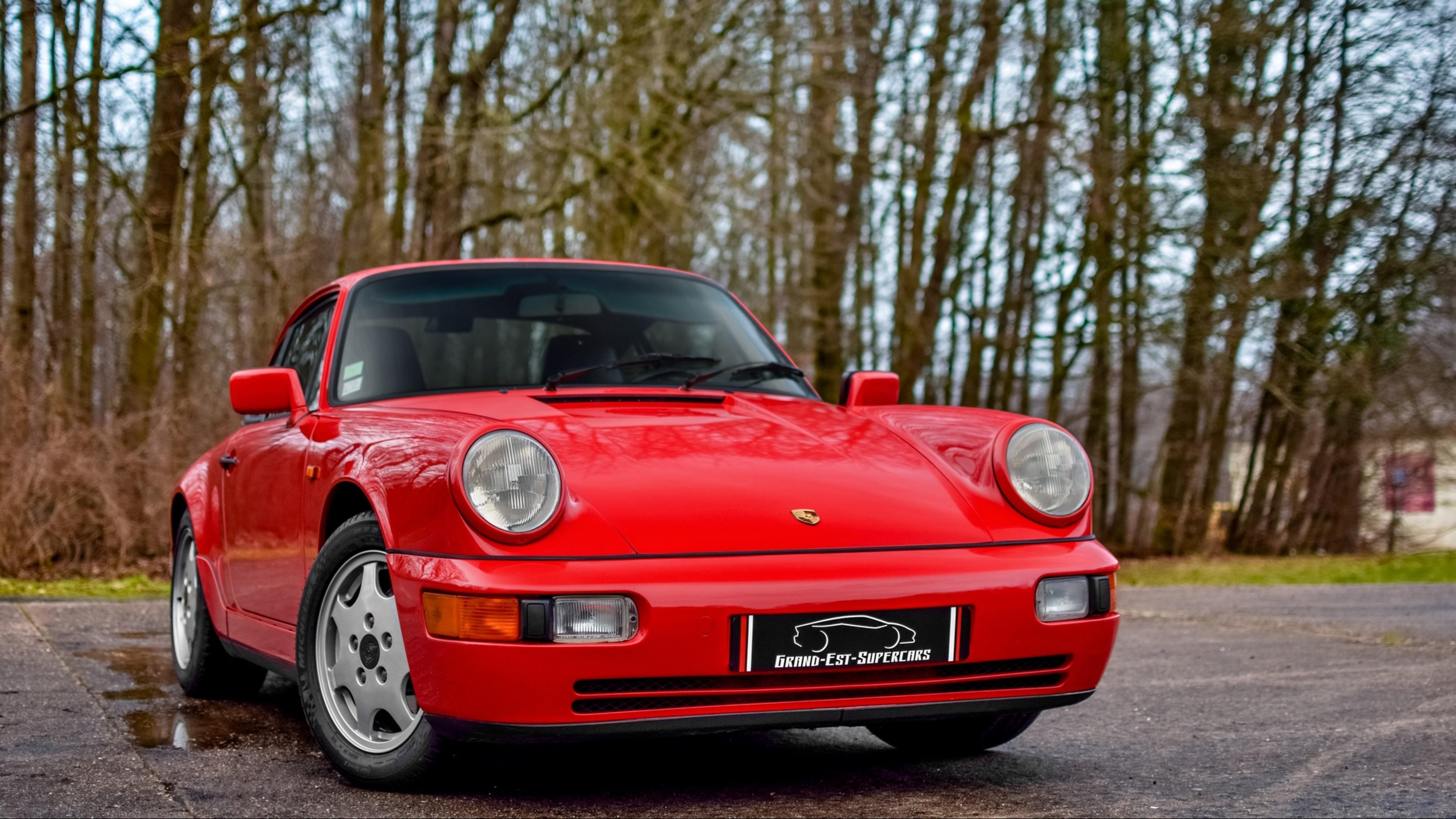 Porsche 964 Carrera 4 Hd Wallpaper 4k Ultra Hd Hd