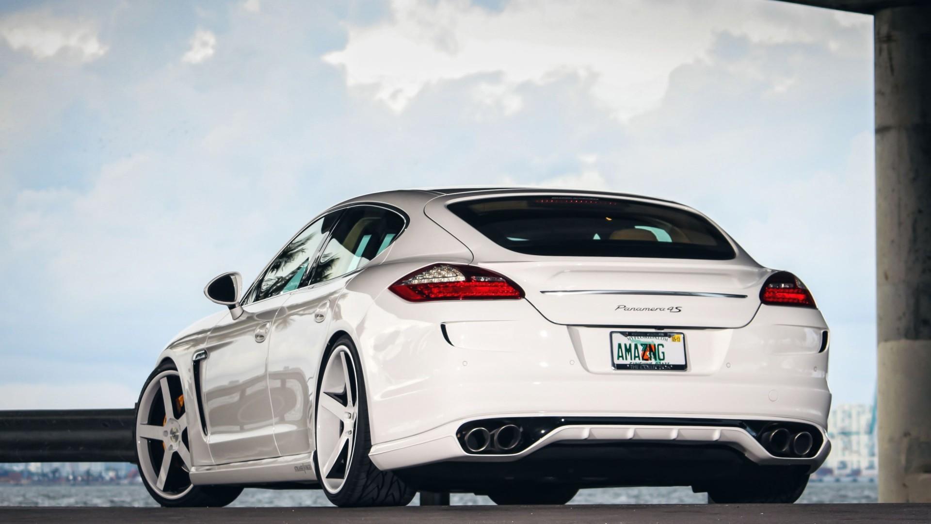 Porsche Panamera Car Hd Wallpaper For Desktop And Mobiles