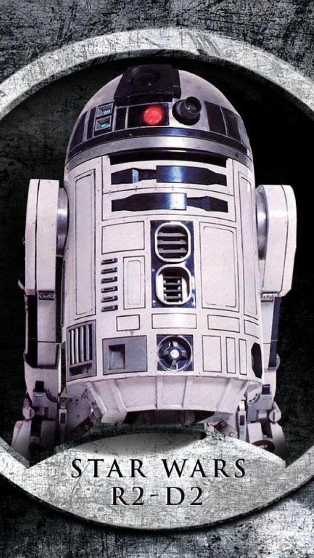 Star Wars R2d2 Hd Wallpaper Iphone 5 5s Ipod Hd Wallpaper Wallpapers Net