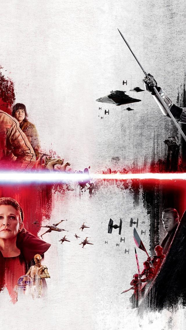 Star Wars The Last Jedi Hd Wallpaper For Desktop And Mobiles Iphone 5 5s Ipod Hd Wallpaper Wallpapers Net