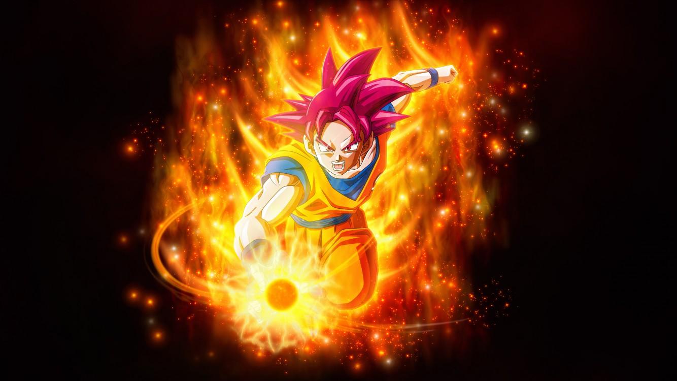 Super Saiyan Goku Dragon Ball Super Super 4k Iphone 7