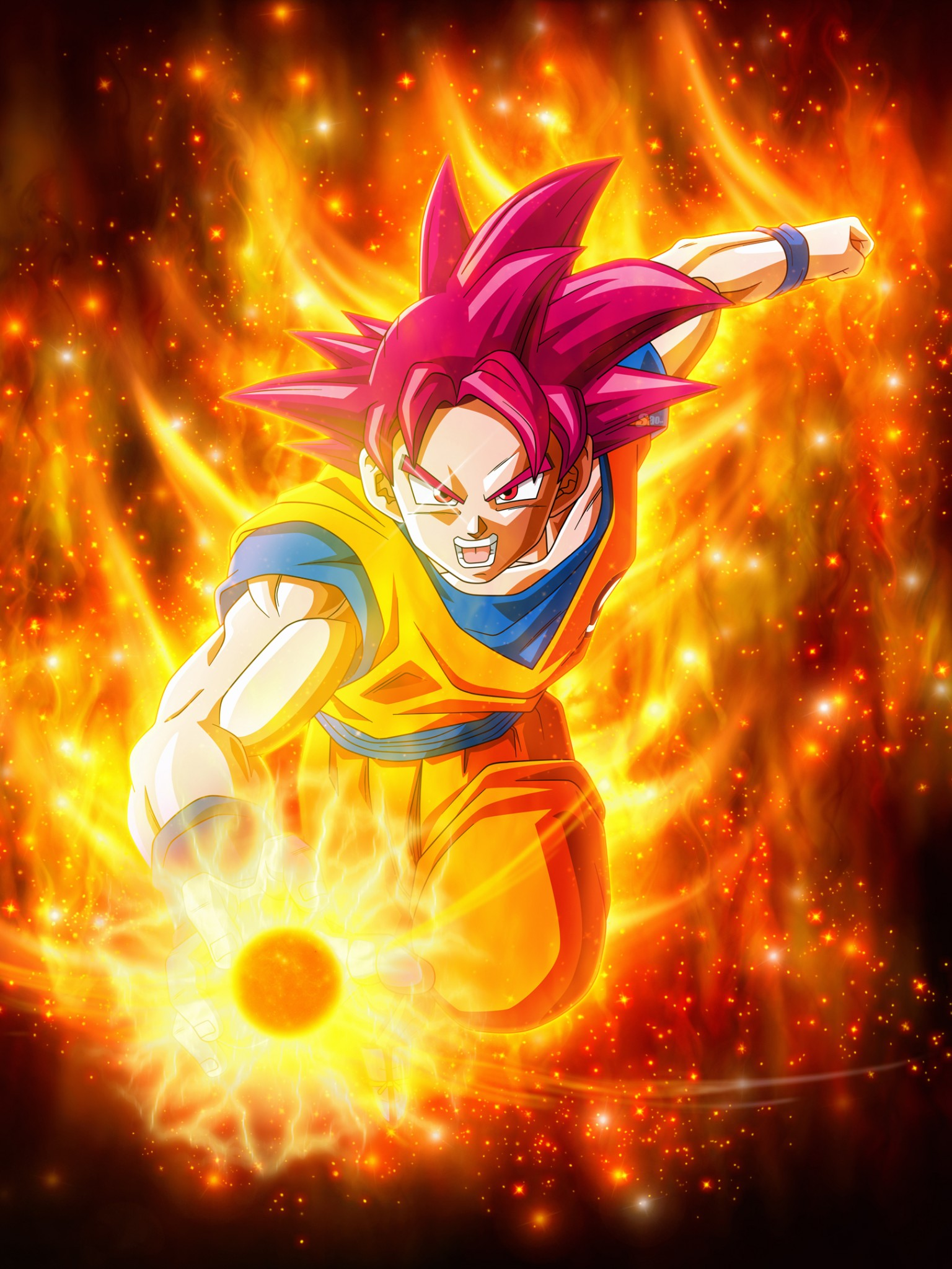Super Saiyan Goku Dragon Ball Super Super 4k Retina Ipad