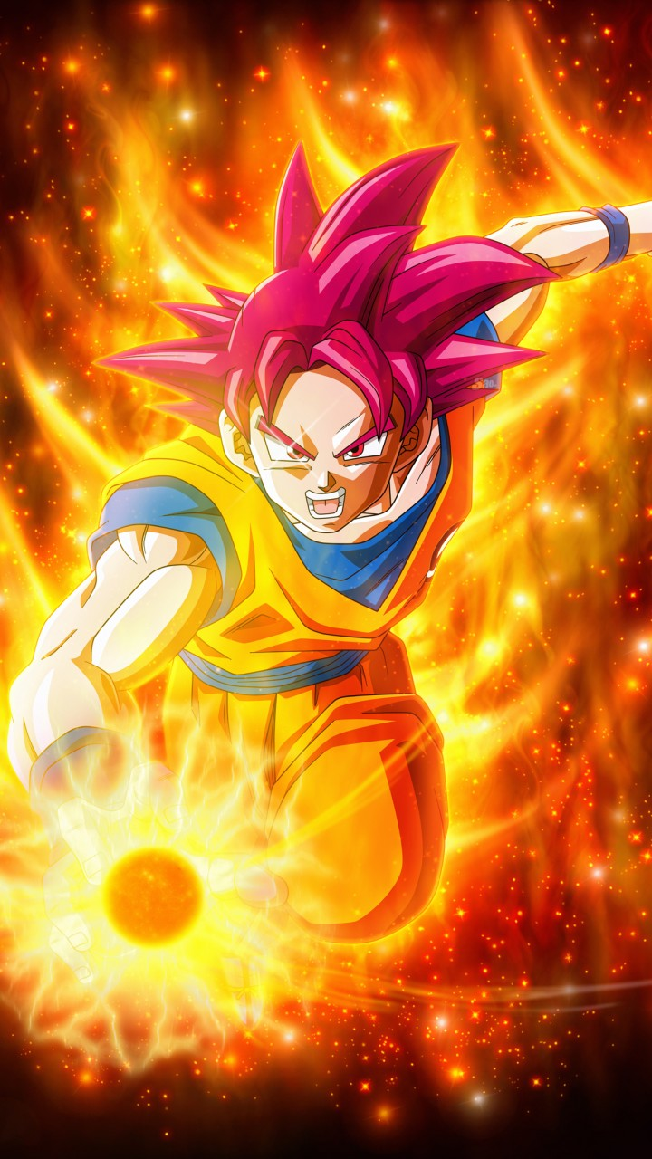 Super Saiyan Goku Dragon Ball Super Super 4k 720x1280 Hd