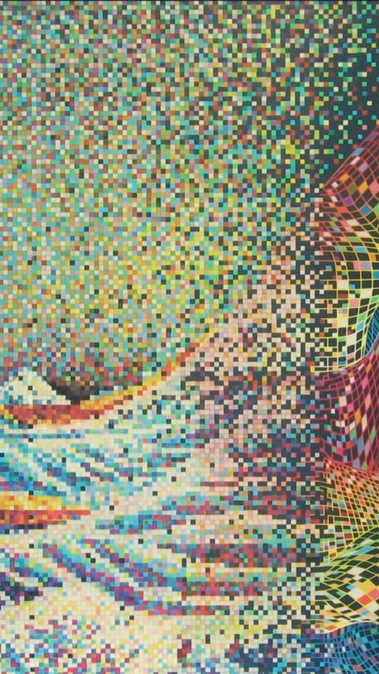 The Great Wave Off Kanagawa Hd Wallpaper 540x960 Hd