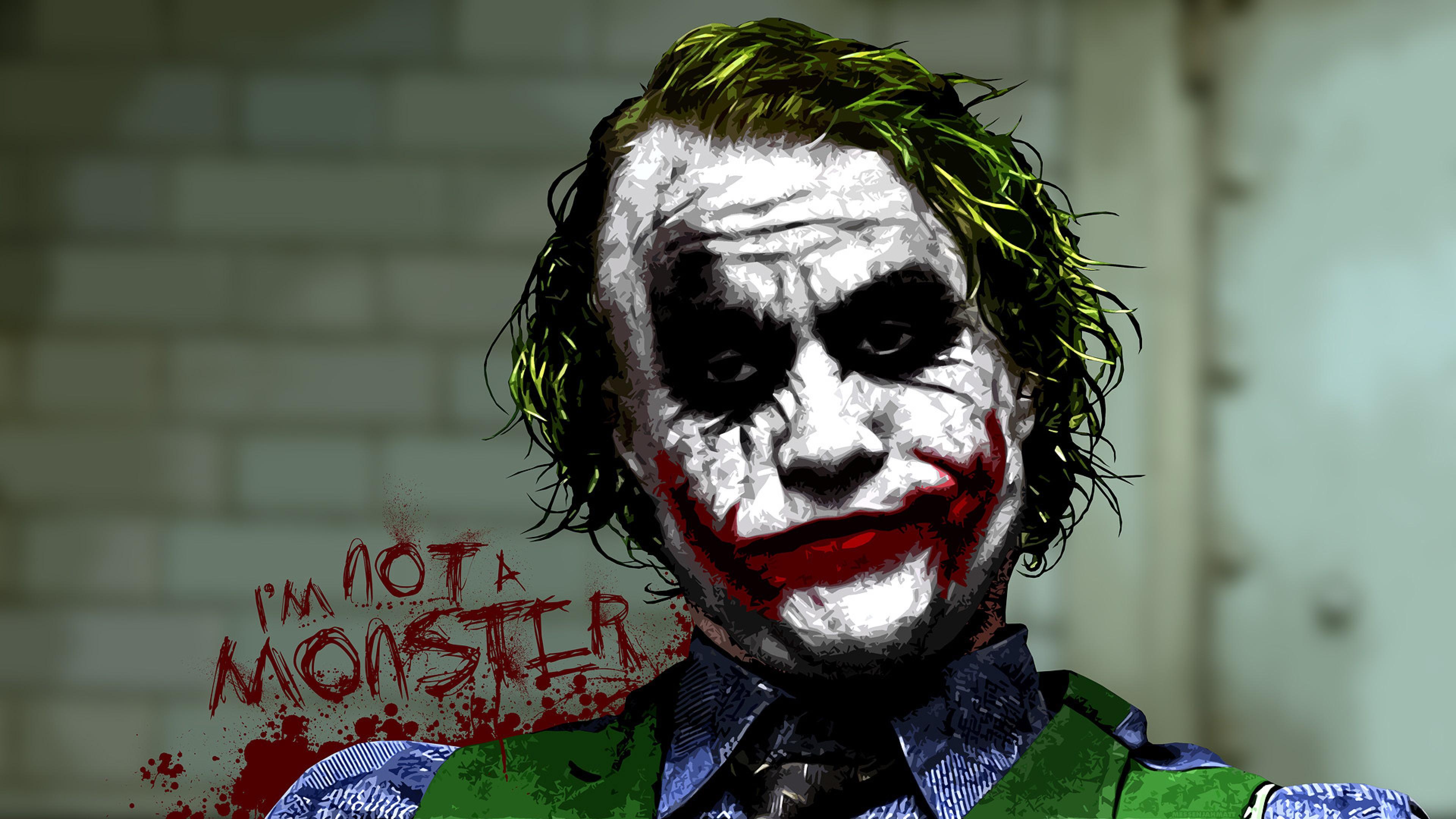 The Joker Hd Wallpaper 4k Ultra Hd Hd Wallpaper Wallpapers Net