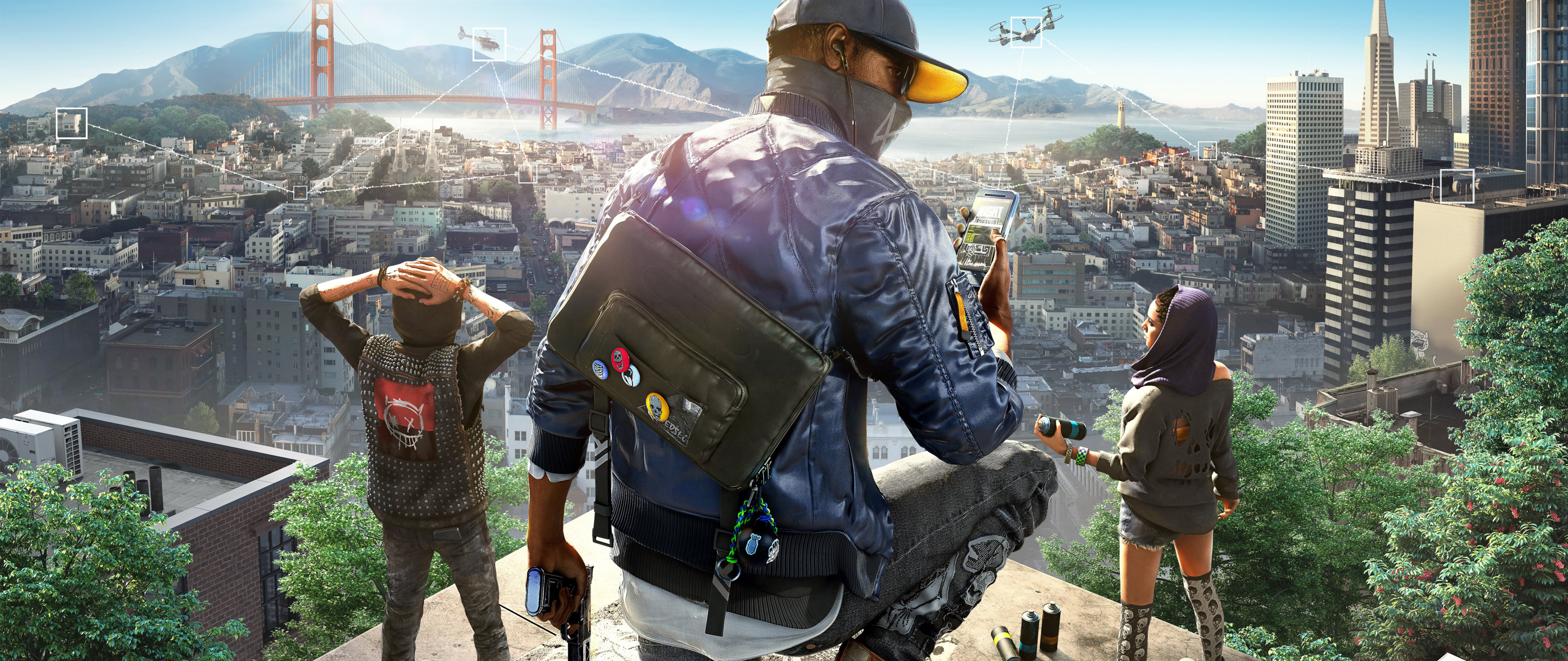 Watch Dogs 2 4k Hd Wallpaper For Desktop And Mobiles 4k