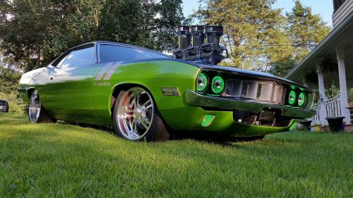 1971 Cuda HD Wallpaper