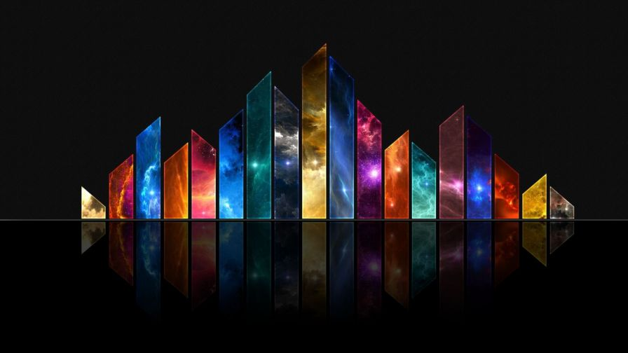 3D Graphic Abstract Wallpaper for Desktop and Mobiles