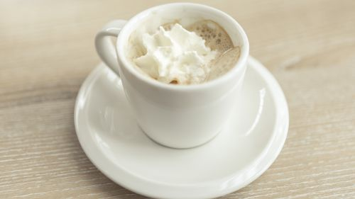 Cappuccino With Cream Hd Wallpaper for Desktop and Mobiles