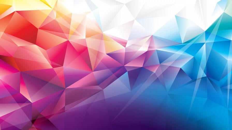 Abstract Best Polygon Hd Wallpaper for Desktop and Mobiles