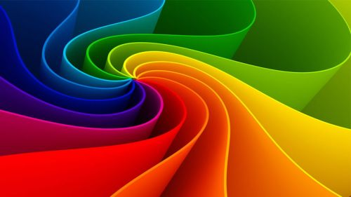 Abstract Coloured Line Wallpaper for Desktop and Mobiles
