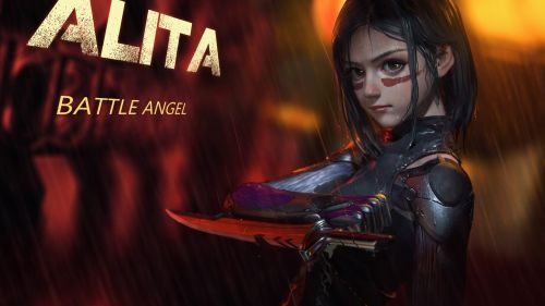 Alita Battle Angel HD Wallpaper