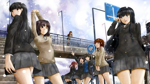 Amagami SS HD Wallpaper