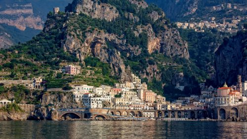 Amalfi, Italy HD Wallpaper