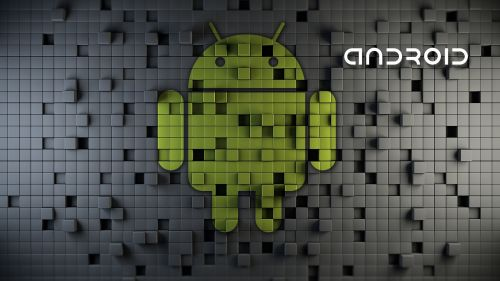 Android mosaic HD Wallpaper