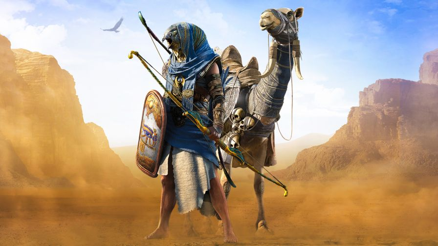 Assassin S Creed Origins Hd Wallpaper For Desktop And Mobiles Wallpapers Net