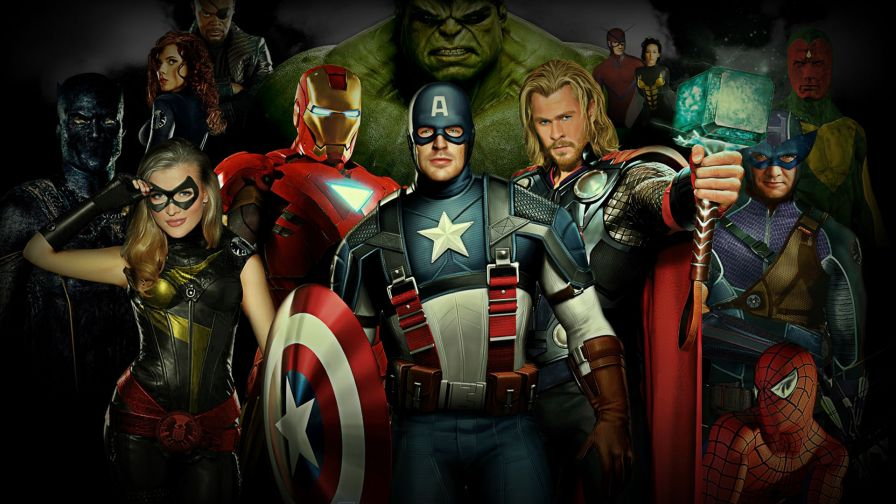 Avengers 2 Full Hd Wallpaper for Desktop and Mobiles