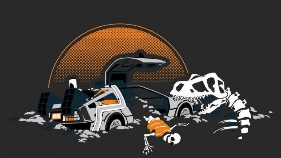Back To The Future Hd Wallpaper Wallpapersnet