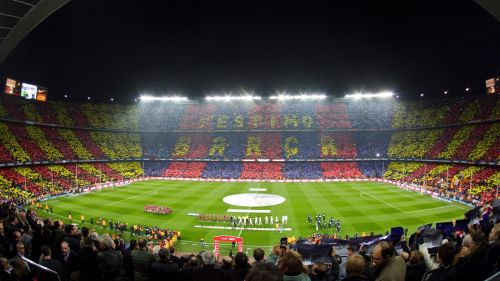 Barcelona stadium HD Wallpaper