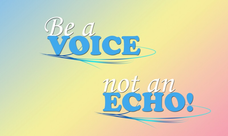 Be a voice HD Wallpaper