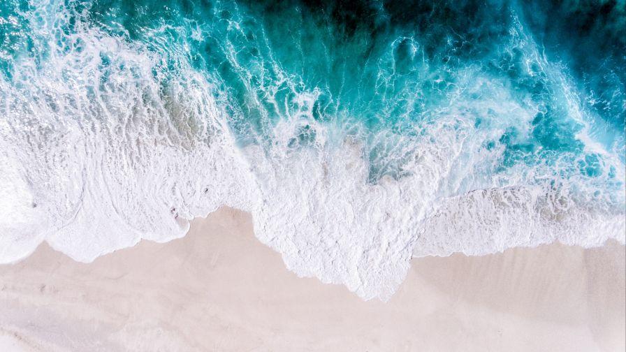 Beautiful Ocean Waves Hd Wallpaper Wallpapersnet