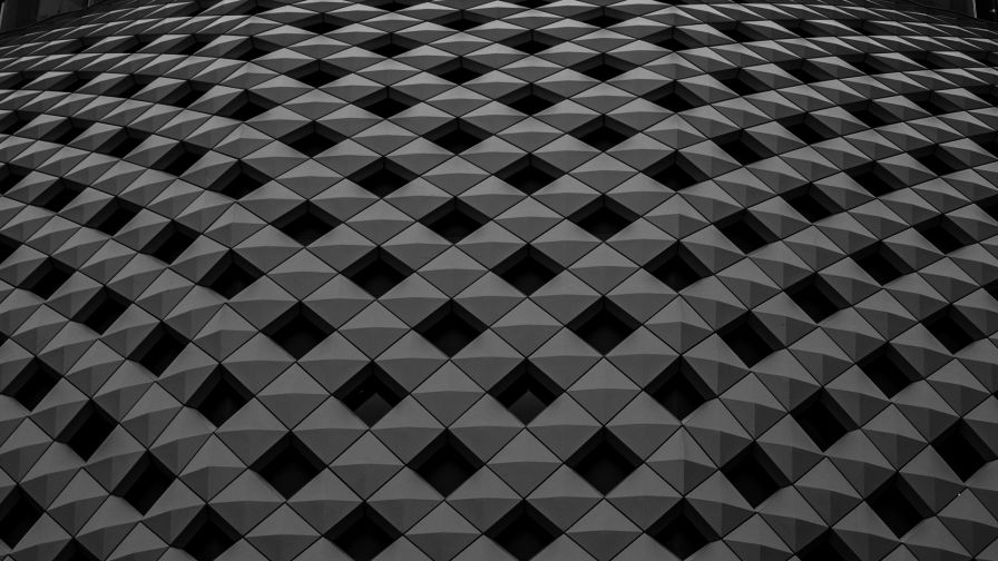 Black and white surface HD Wallpaper