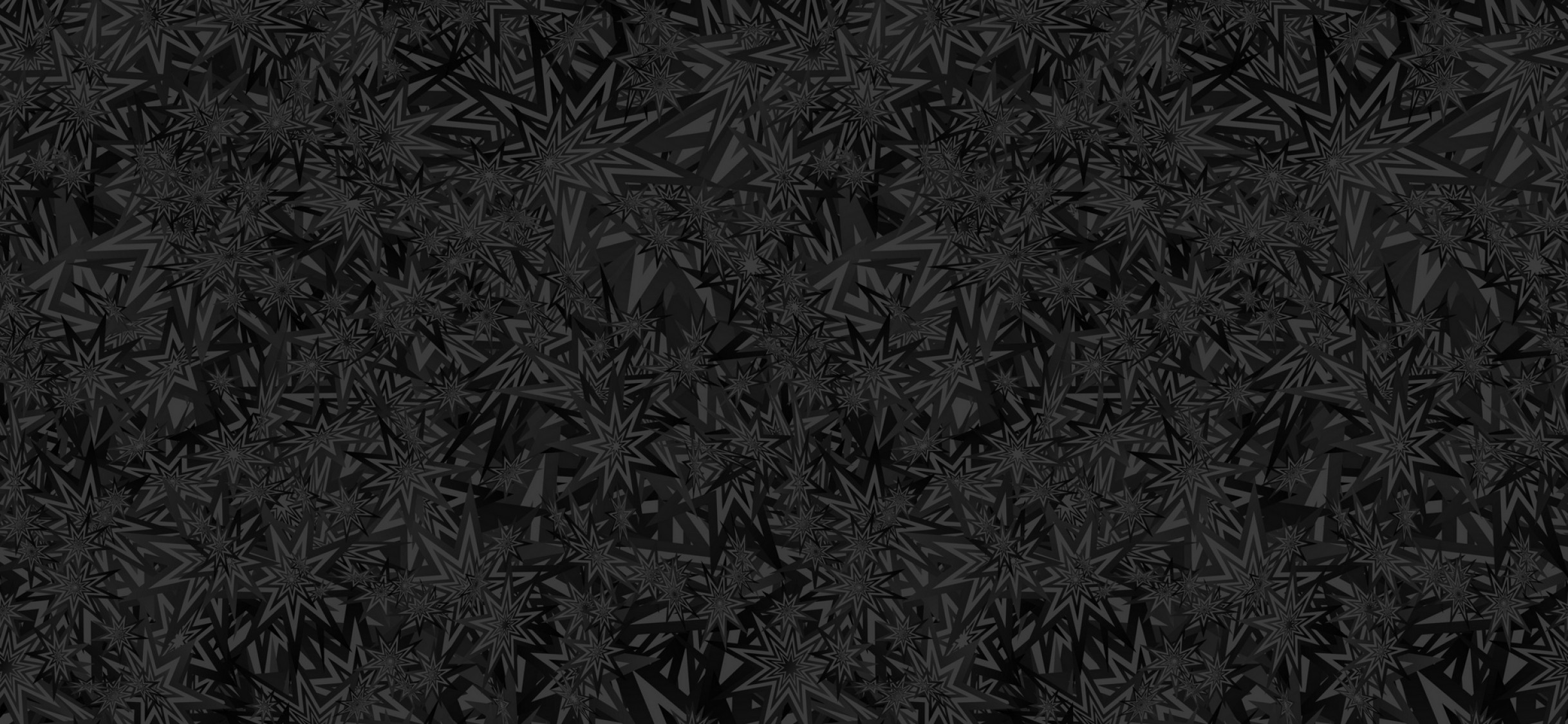 Black stars pattern HD Wallpaper