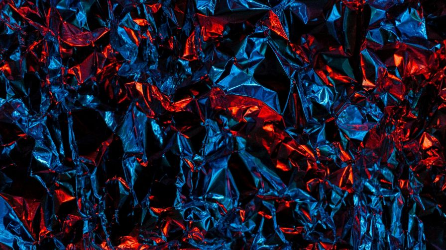 Blue And Red Foil Hd Wallpaper Wallpapers Net