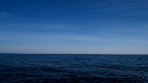 Blue horizon HD Wallpaper
