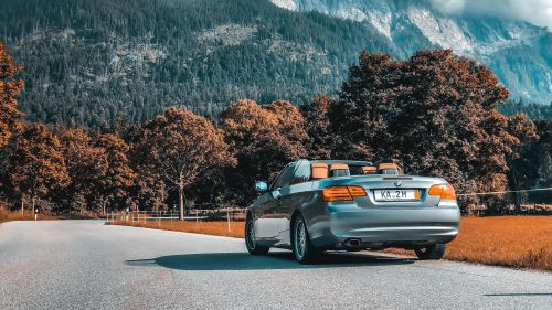 BMW 3 series convertible HD Wallpaper
