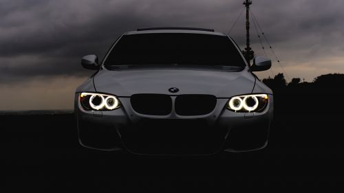 BMW Headlights HD Wallpaper