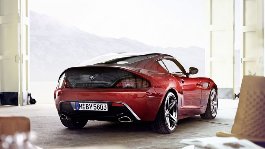 BMW Zagato Coupe Concept HD Wallpaper