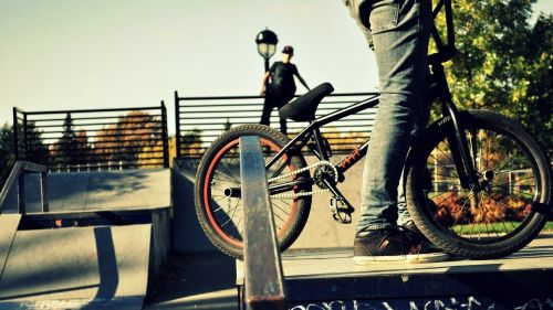 BMX Bike HD Wallpaper