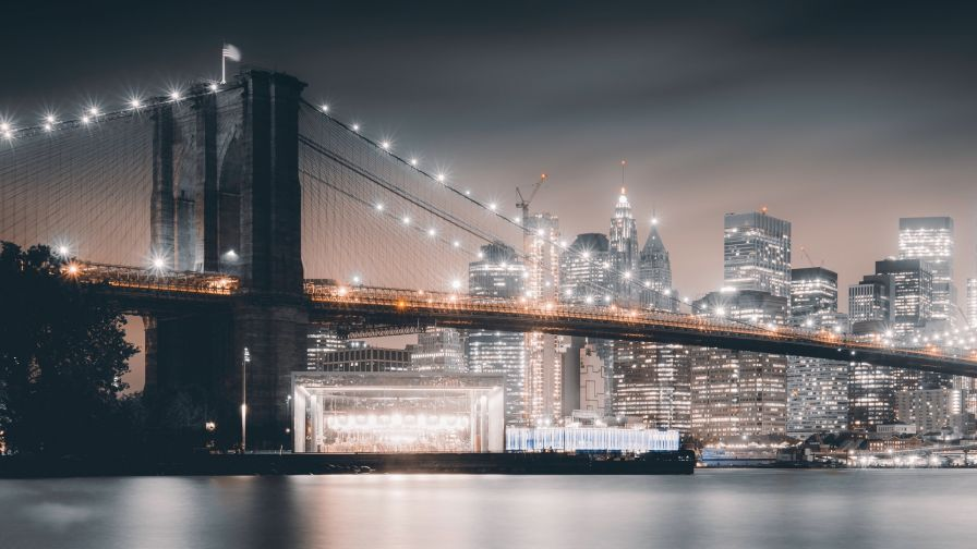 Brooklyn Bridge Hd Wallpaper Wallpapersnet