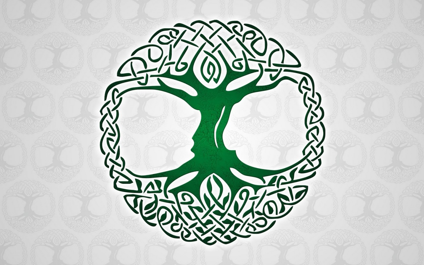 Celtic Tree of Life HD Wallpaper